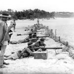 Picture from World War 2 on the beach at Mount Martha