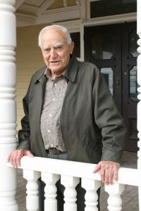 John Pingiaro who purchased Mount Martha's first fire truck with his brother John
